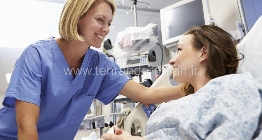 اعزام همراه بیمار در بیمارستان