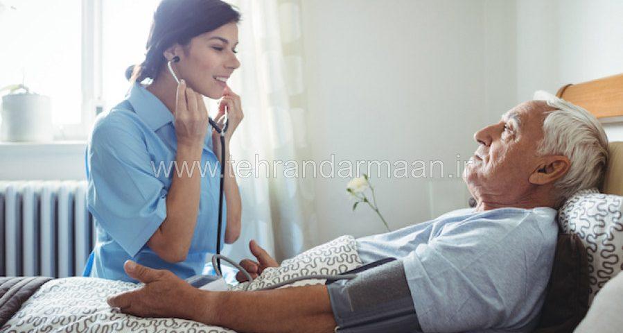 خدمات مراقبتی از بیمار