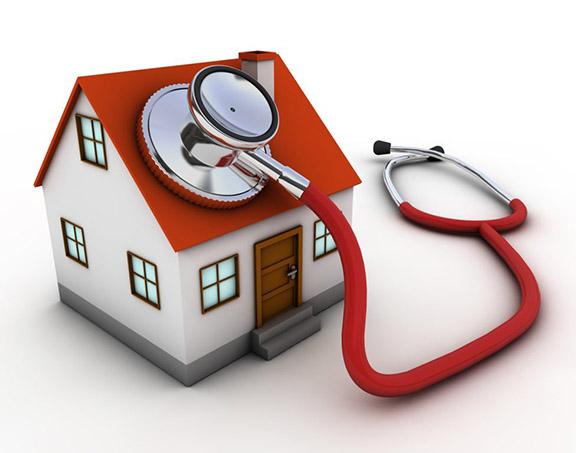 ویزیت بیمار در خانه