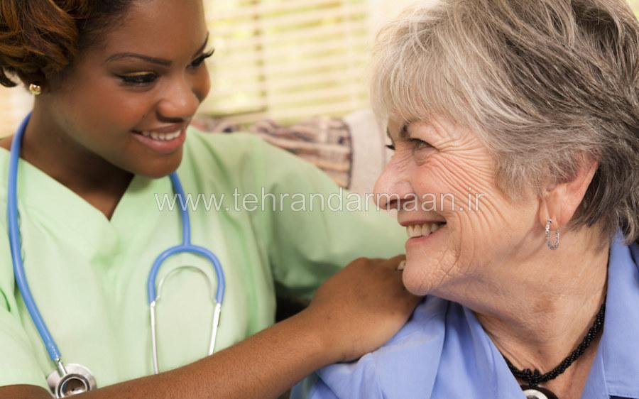 قیمت مراقبت و پرستاری از سالمند سالم شبانه روزی