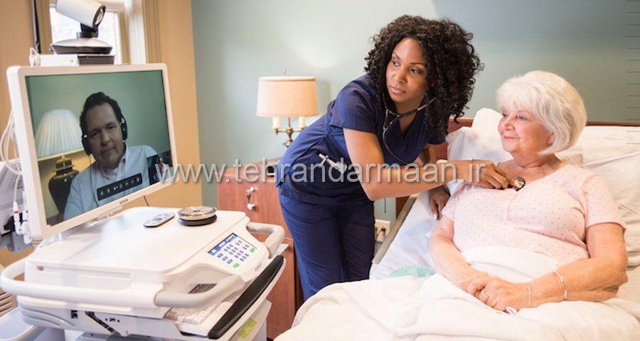 پرستار سالمند شبانه روزی