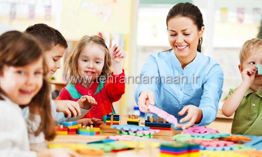 پرستار کودک روزانه
