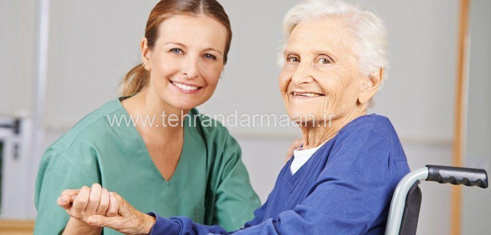 پرستار تخصصی سالمند