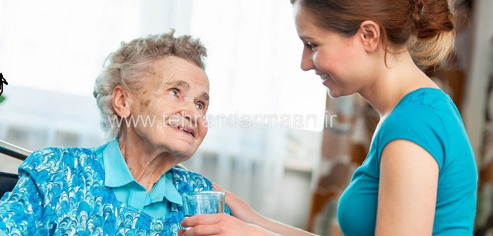 پرستار سالمند آلزايمرى